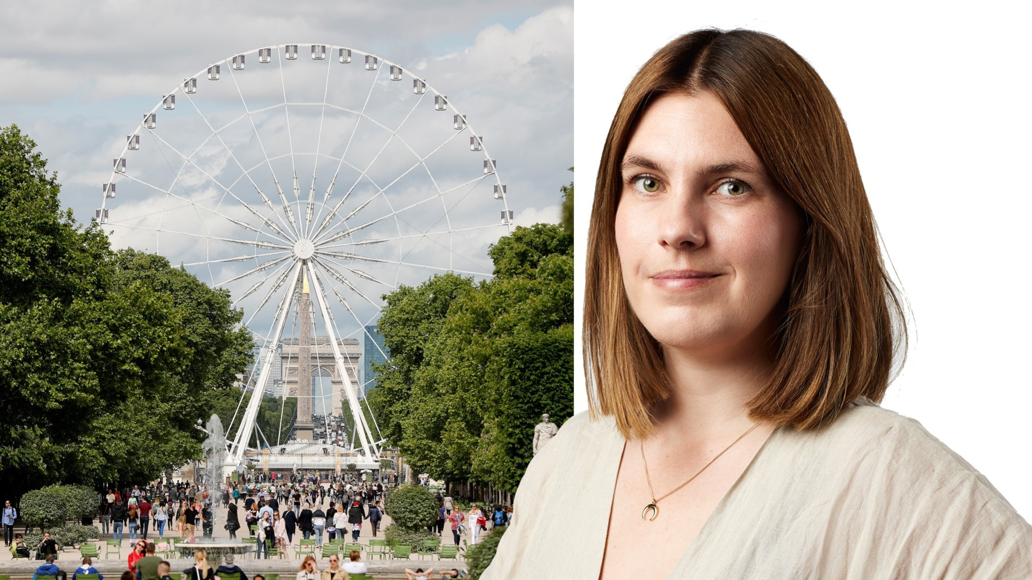 Pariserhjul och Felicia Frithiof