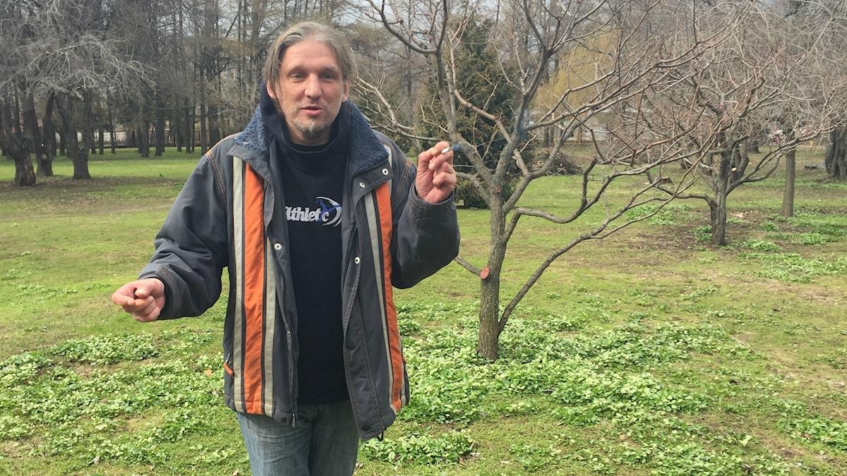 Stambul har knarkat sedan Sovjets fall. Han hoppas att metadonbehandling snart blir tillåten i Ryssland så han kan leva ett normalt liv.
