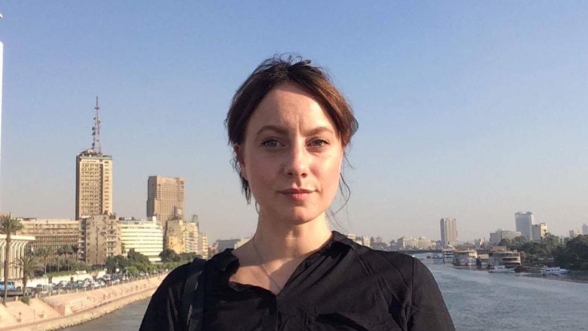 Stephanie Zakrisson i Kairo