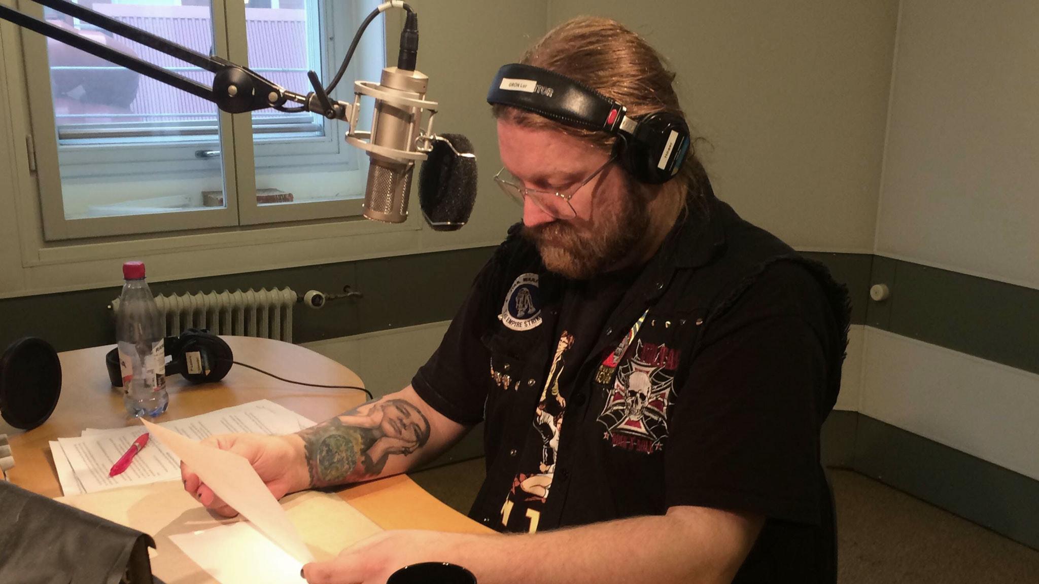 Rickard Söderberg. Foto: Andreas Lindahl/Sveriges Radio.