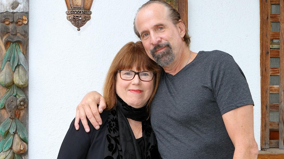 Peter Stormare och Kerstin Berggren. Foto: Kerstin Alm.