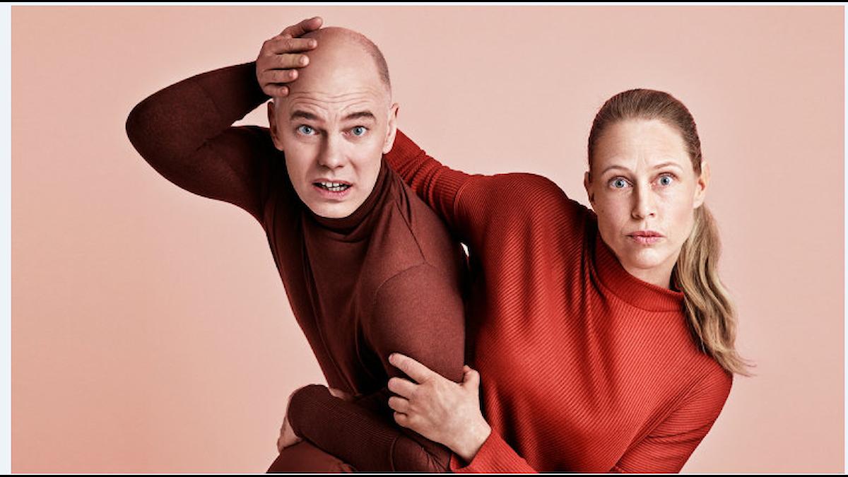 Niklas Hjulström och Sanna Krepper