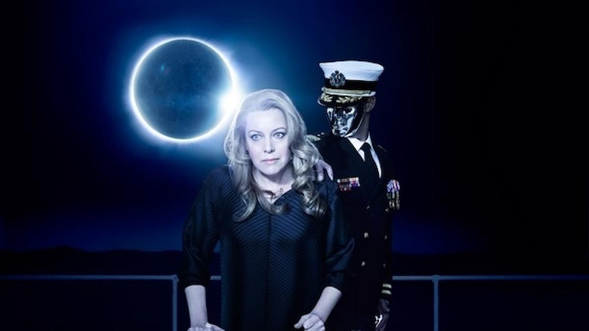 Nina Stemme som Isolde  i Metropolitans uppsättning av Wagners opera Tristan och Isolde.