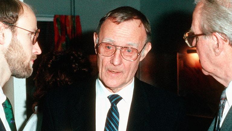 Veckans boss – Ingvar Kamprad.  FOTO: SVT BILD
