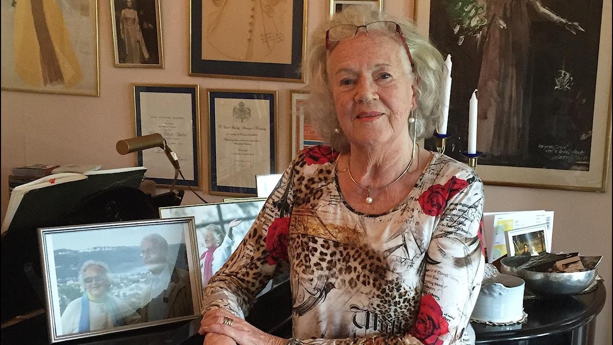 Margareta Dellefors. Foto: Mohamed El Abed/Sveriges Radio.