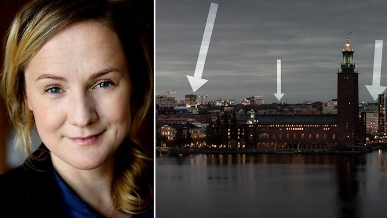 Lina Thomsgård och Stockholm