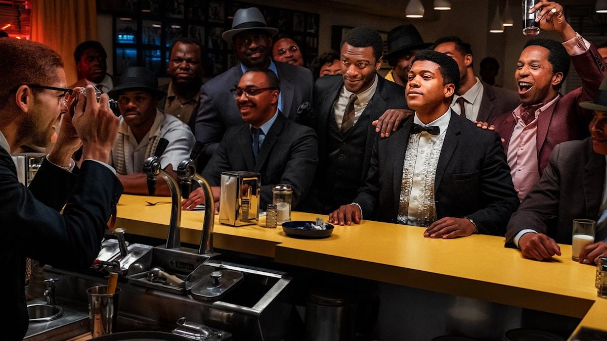 I Regina Kings film One night in Miami möts Malcolm X, Cassius Clay och Sam Cooke i 60-talets Miami. Filmen visas på Stockholms filmfestival 2020.
