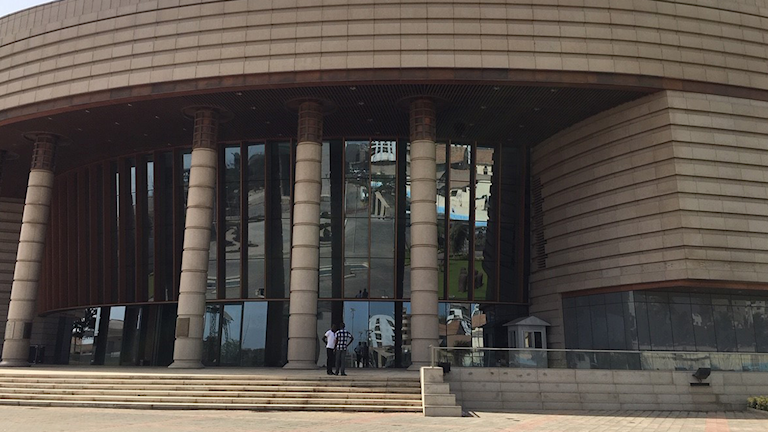 Musée des civilisations noires i Dakar.
