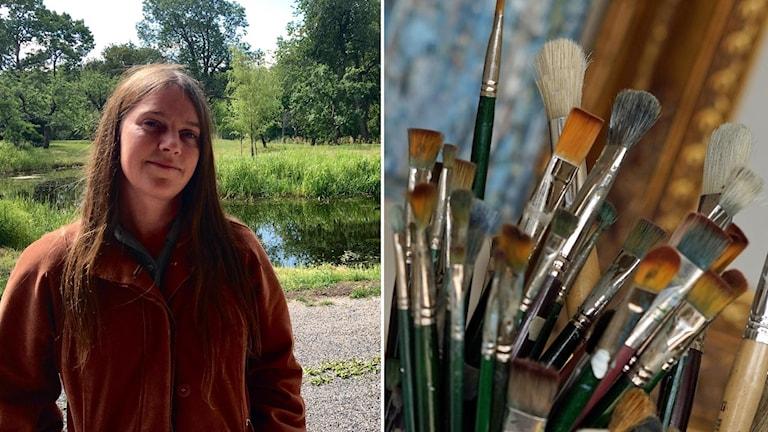 Stella D'Ailly är en av de konstnärer som drabbats av bristen på billiga produktionsplatser.