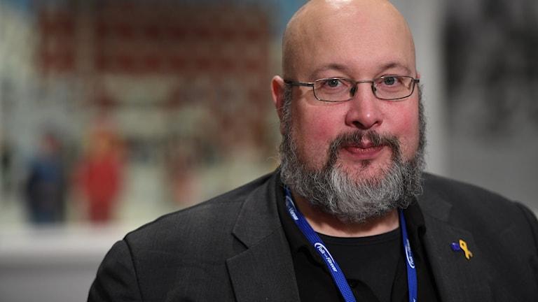 Rapportförfattaren Patrik Oksanen.