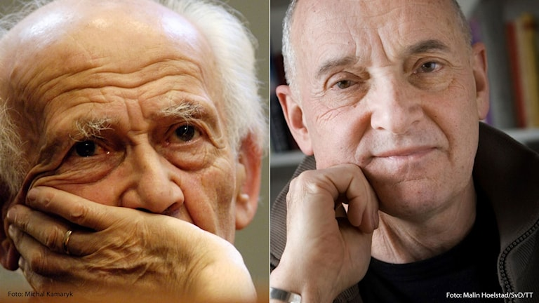 Zygmunt Bauman och Lars Dencik.