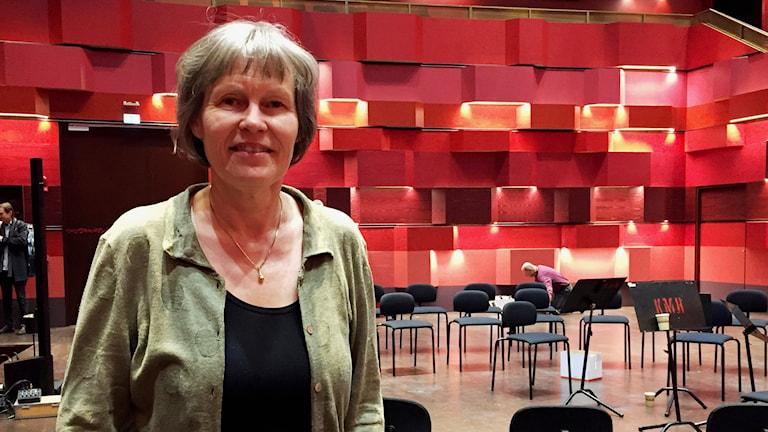 """Tonsättaren Karin Rehnqvist har skrivit musik för """"Fifty for the future""""-projektet."""