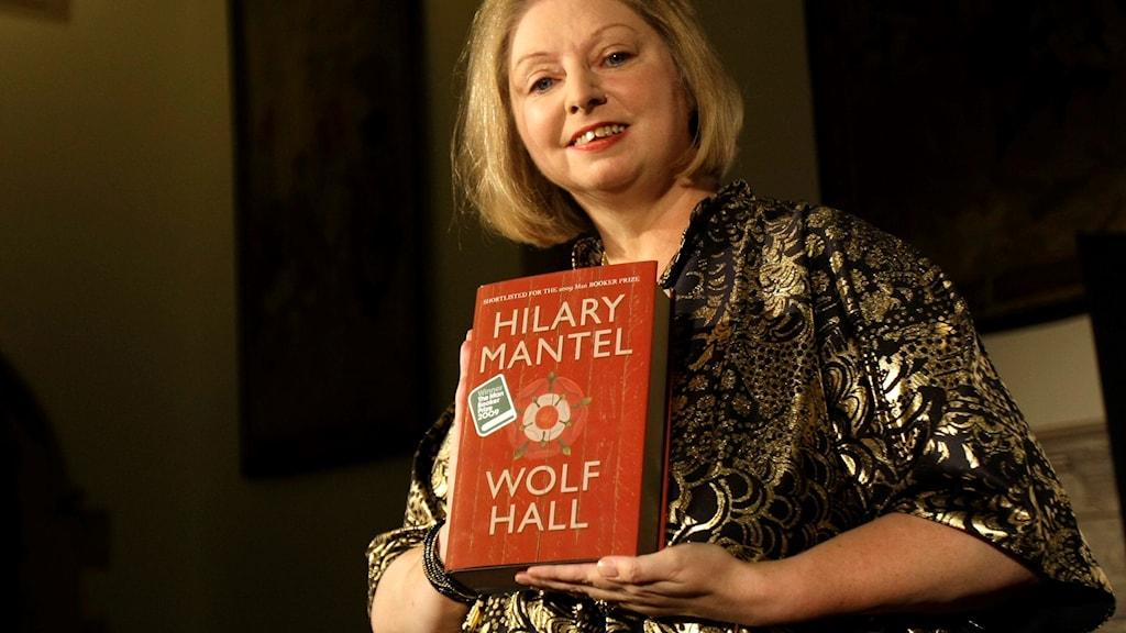 "Författaren Hilary Mantel vann 2009 man Booker-priset för sin roman ""Wolf Hall."""