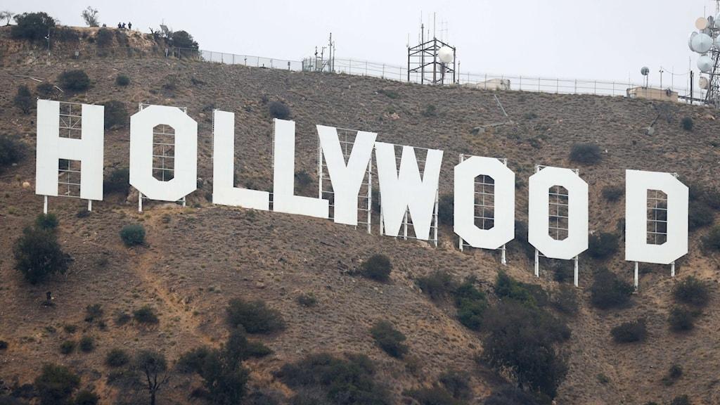 "Skylten ""Hollywood"" i Los Angeles."