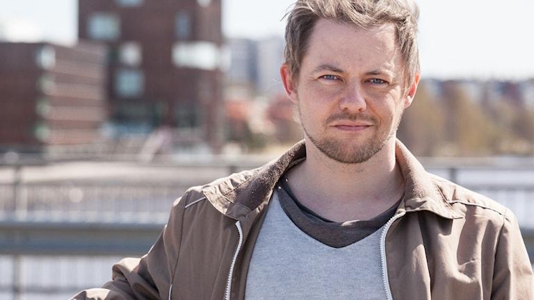 Författaren Mikael Berglund