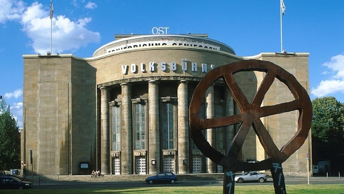 Volksbühne i Berlin-Mitte