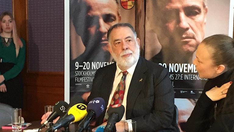 Francis Ford Coppola i Stockholm