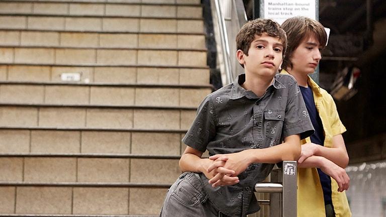 "Michael Barbieri and Theo Taplitz  i ""Little Men"""