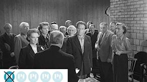 Bergmanpodden betygsätter Bergman. Bild ur fiilmen Sånt händer inte här från 1950. Foto: Louis Huch/AB Svensk filmindustri