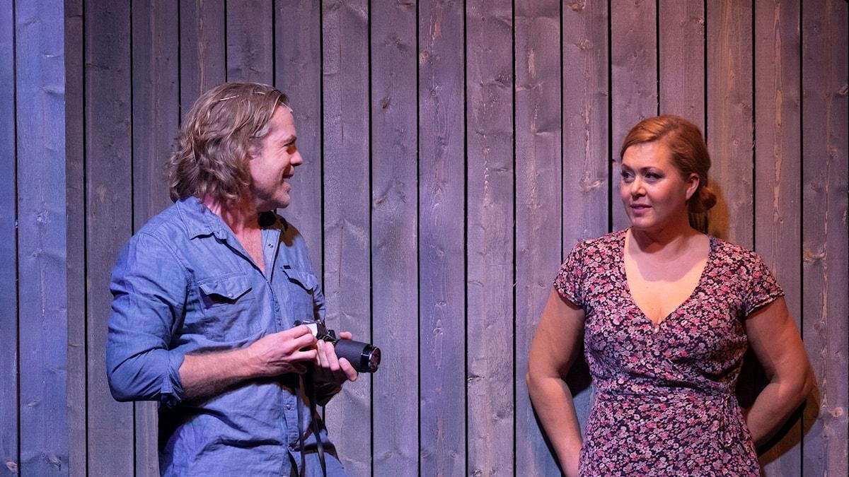 Viktoria Tocca och Daniel Sjöberg i Broarna i Madison County