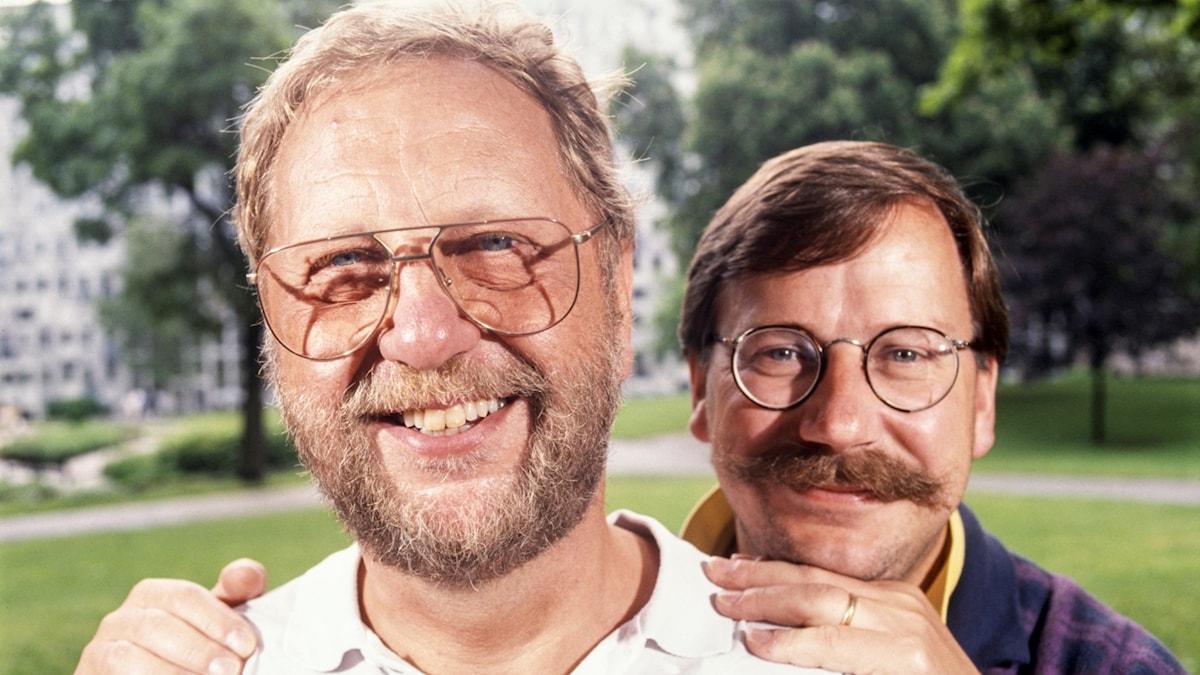 Åke Cato och Sven Melander