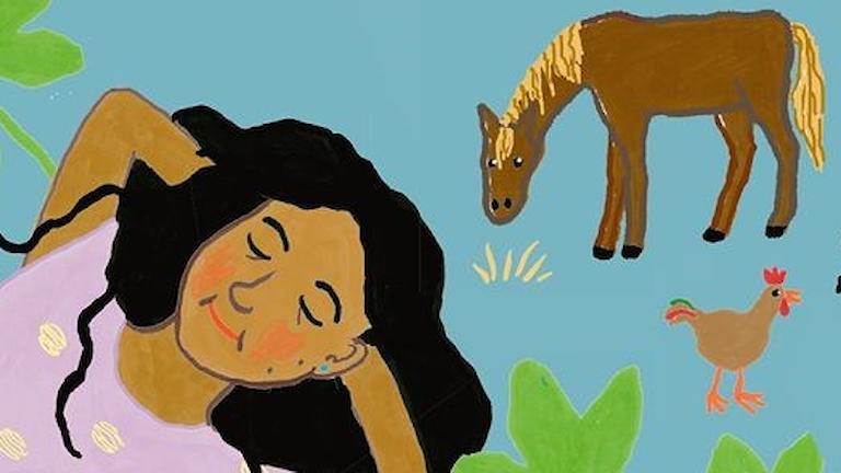 """""""Jordgubbsbarnen"""" av Sara Olausson."""