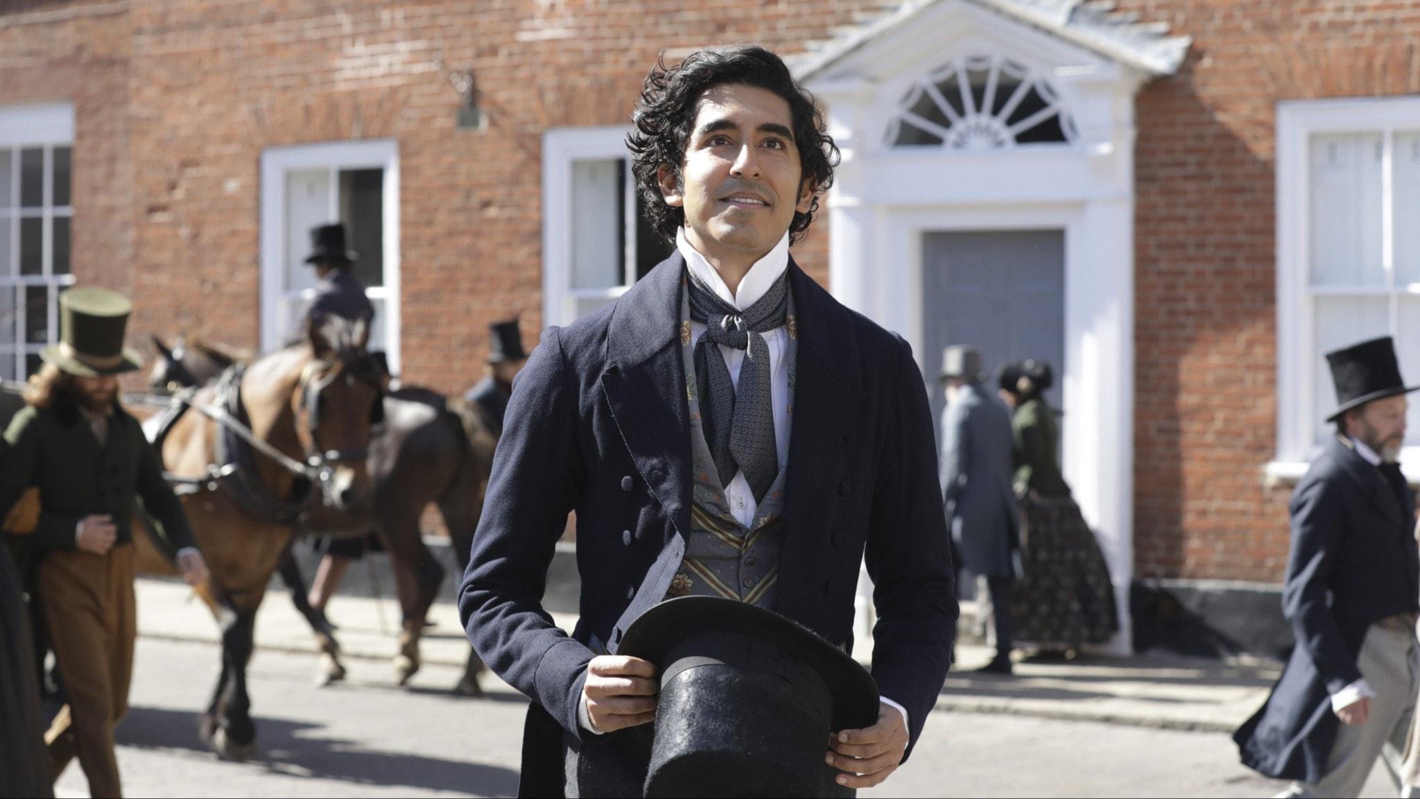 """Dev Patel i """"David Copperfields äventyr och iakttagelser"""""""