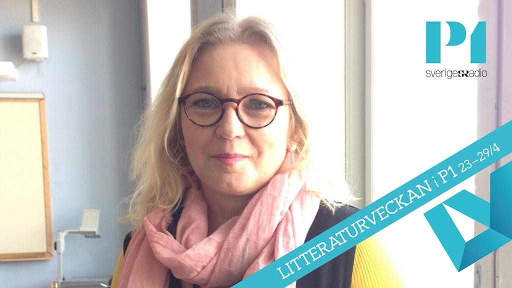"""Pia Bergström kommer att leda kursen """"Det biblioterapeutiska arbetssättet"""""""
