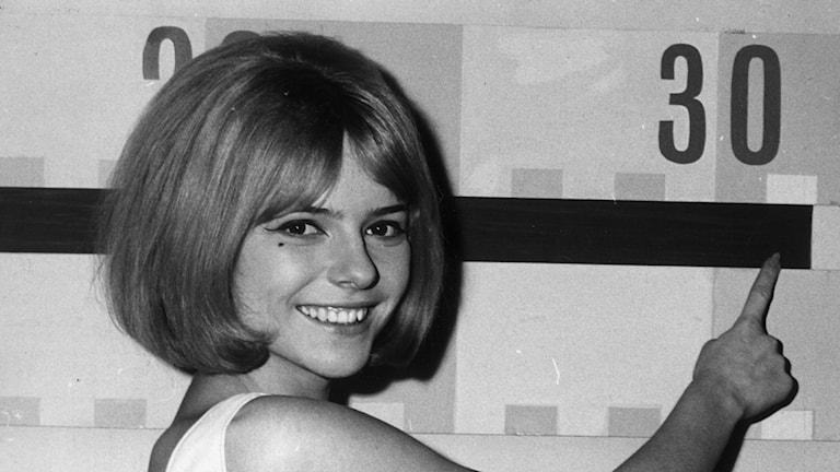 France Gall schlagerfestivalen 1965