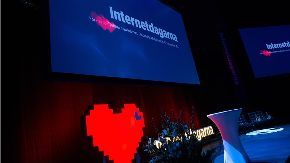 Internetdagarna i Stockholm 2016.