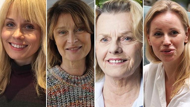 Helena af Sandberg, Lena Endre, Marie Göranzon och Sofia Helin är bland de 456 kvinnorna i uppropet.