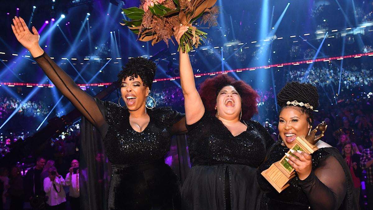 Melodifestivalen 2020 vanns av The Mamas.