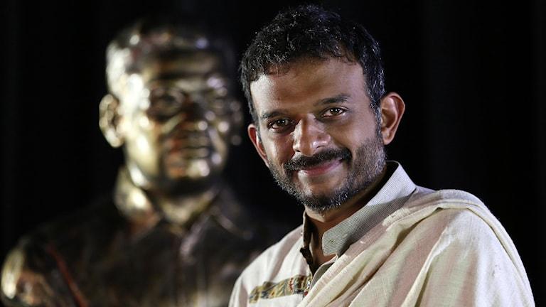 Sångaren och klassiske musikern Thodur Madabusi Krishna.