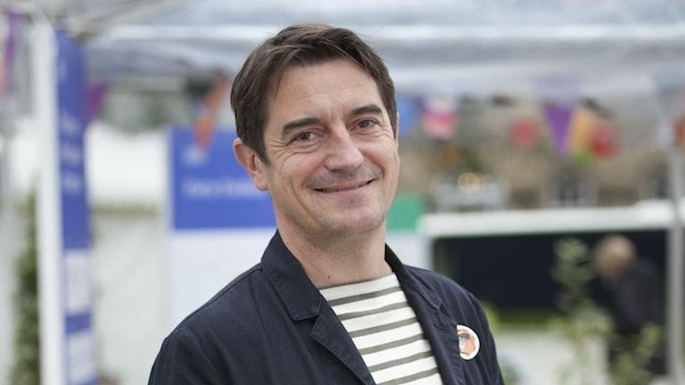 Nick Barley, festivalchef för Edinburgh International Book Festival.