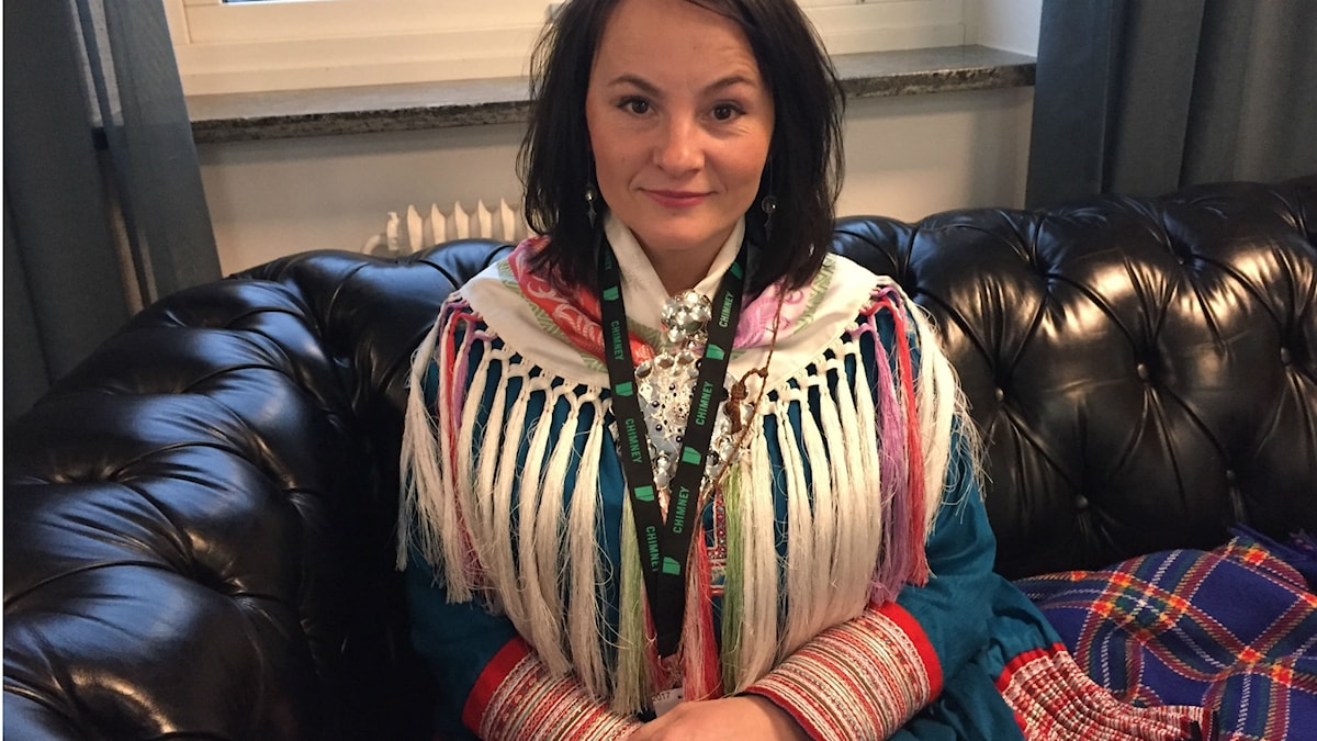 Anne Lajla Utsi, chef för International sámi film institute