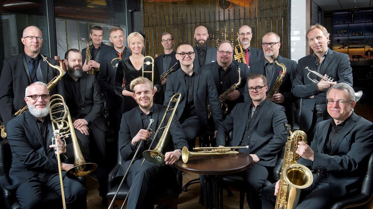 Norrbotten big band.
