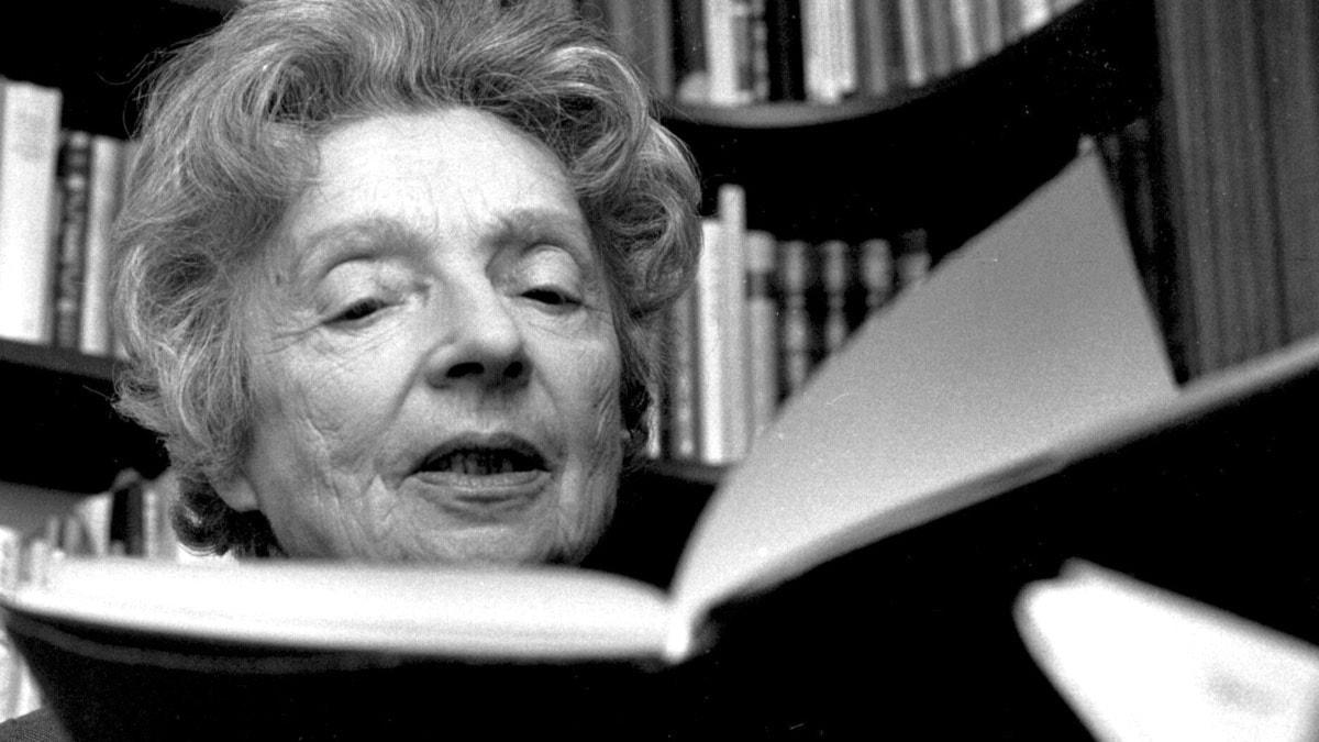 Nelly Sachs, Nobelpristagare i litteratur 1966. Foto: Lennart Nygren / Scanpix