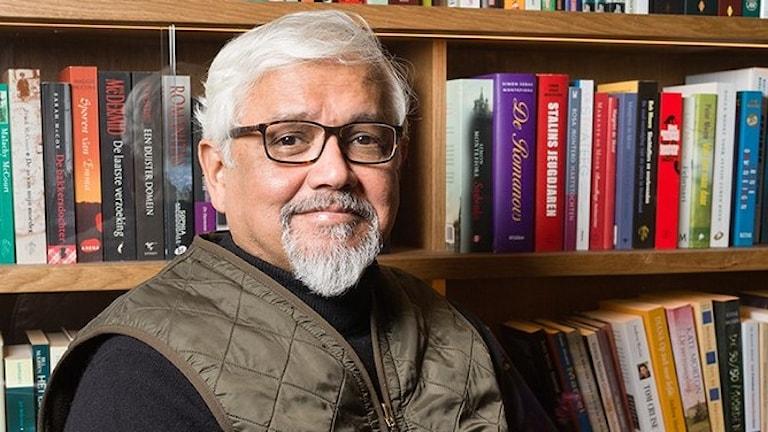 Den indiske författaren Amitav Ghosh.