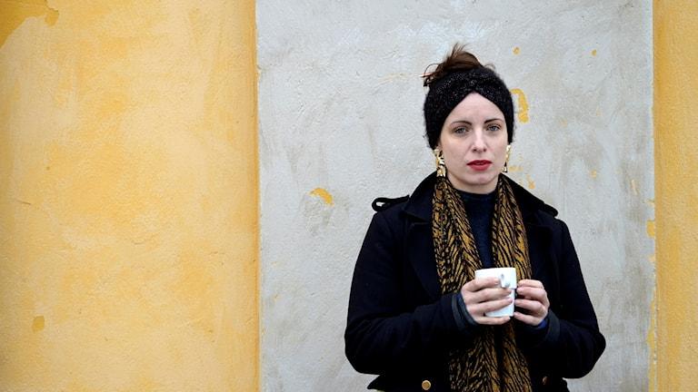 Författaren och skådespelerskan Nina Wähä.