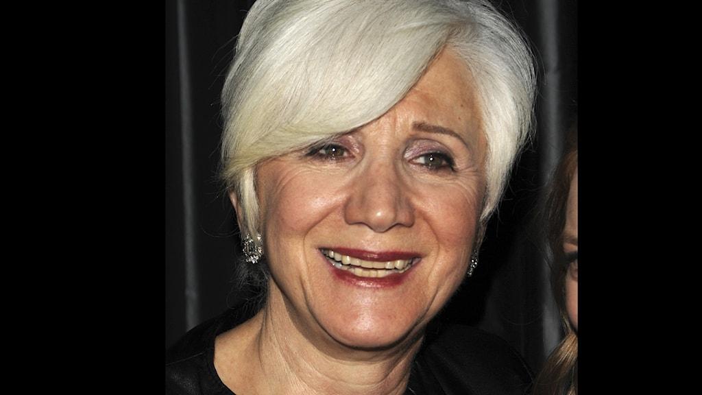 Färgbil på skådespelaren Olympia Dukakis som har gått bort, 89 år gammal.