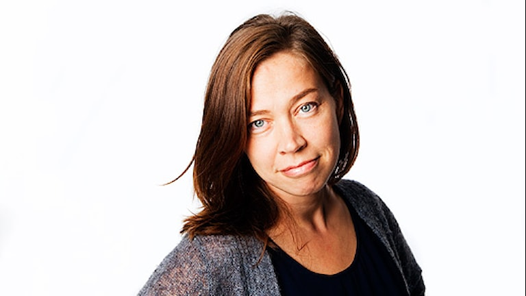 Marie Lundström. Foto: Mattias Ahlm/Sveriges Radio.