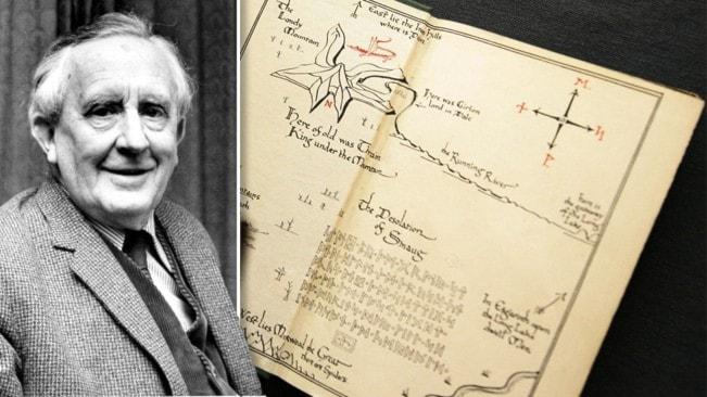 """Tolkiens egna bilder ges ut i nyutgåva av """"Sagan om ringen"""""""