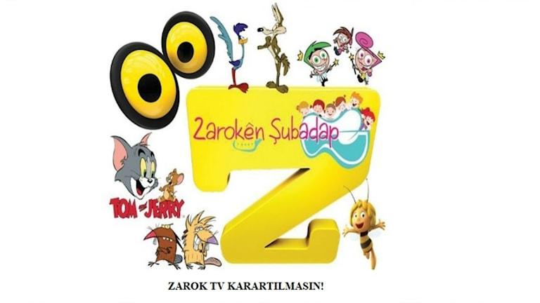 Kurdiskspråkiga barnkanalen Zarok TV hoppas kunna öppna igen.