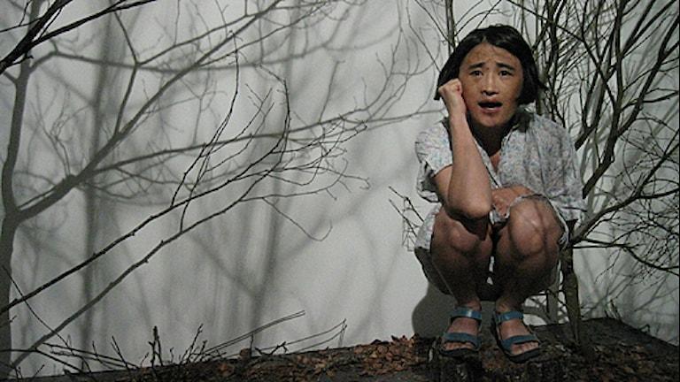 Yingmei Duan på Lilith Performance Festival. Foto: Karin Arbsjö/Sveriges Radio