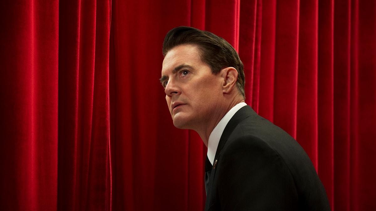 "Kyle MacLachlan spelar Agent Cooper i ""Twin Peaks""."