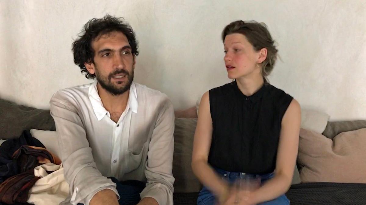 Tarek Atoui och Julia Giertz