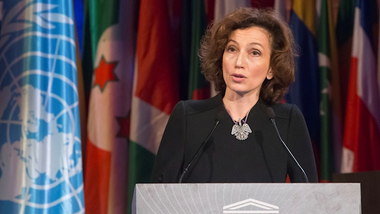 Audrey Azoulay, Unesco.