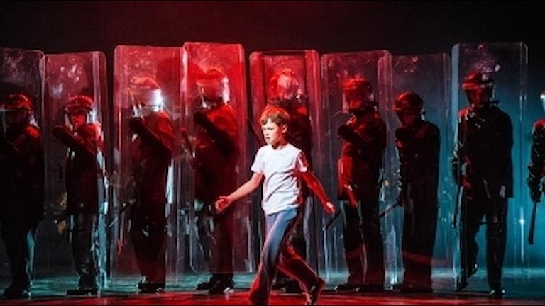 David Fridholm i Billy Elliot – The musical. Stockholmspremiär 10 februari 2017 på Stora scenen. Kulturhuset Stadsteatern
