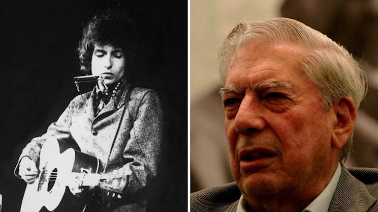 Bob Dylan och Mario Vargas Llosa