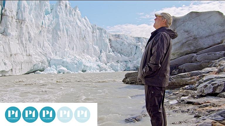 """Al Gore på Grönland vid inspelningen av """"En obekväm uppföljare""""."""